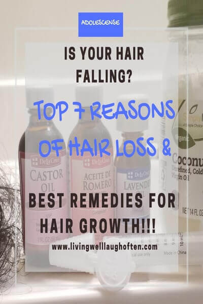 Hair Loss Natural Treatment with Oil Extract