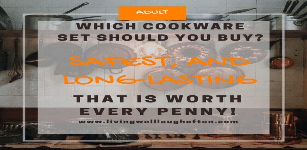 Cookware sets both pots, pans, and utensils.