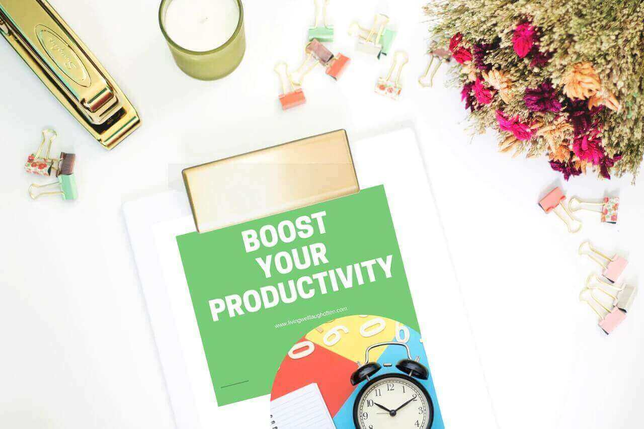 Boost Your Productivity Worksheets